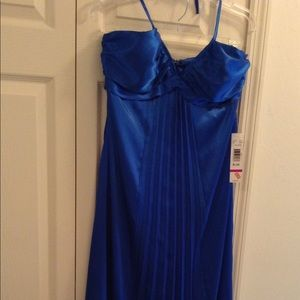 Homecoming, Prom, Evening gown New Blue